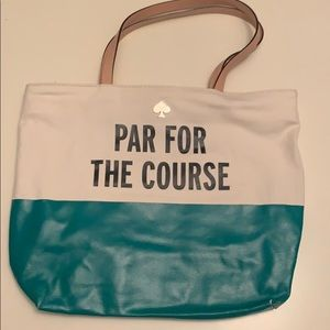 Kate Spade Par for the Course tote